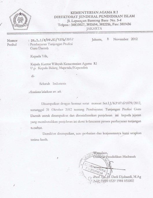 pembatalan Pembayaran tunj sertifikasi nip 13 2